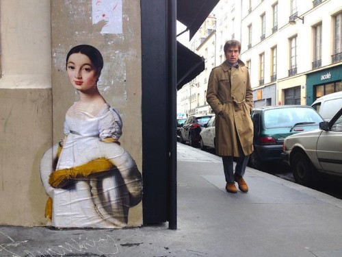"Worldwide ""Outings"" Project Pastes Museum Paintings Onto City Streets"
