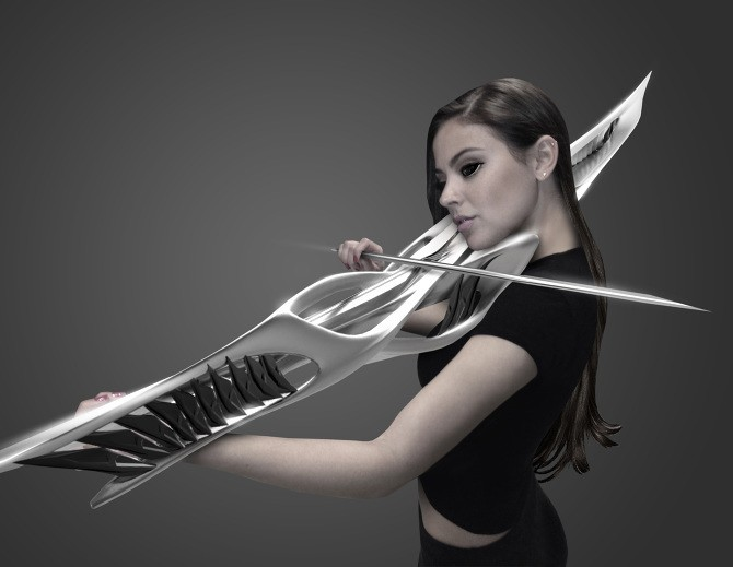 Magnificent 2-String Violin is a 3D-Printed Instrument from the Future