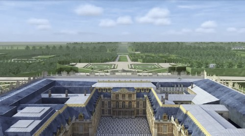 Fascinating Animations Show How the Palace of Versailles Evolved Over 400 Years