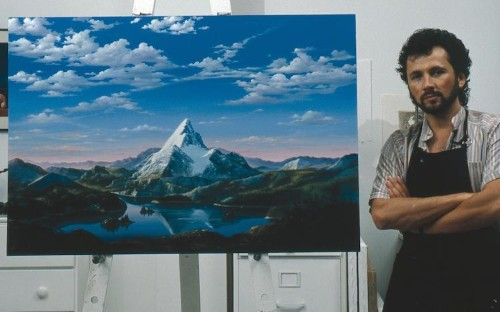 How a Gorgeous Landscape Painting Became the Paramount Pictures Logo