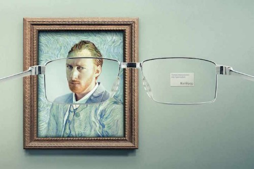 Clever Ads Reveal an Unexpected Side to Famous Artworks