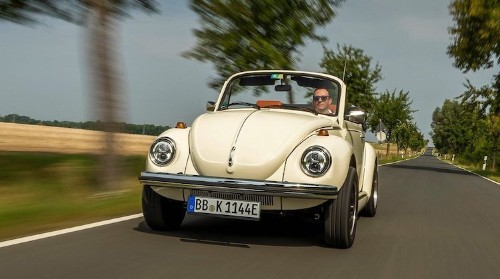 Volkswagen Transforms Its Iconic VW Beetle into an Electric Vehicle