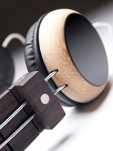 Stylish Headphones Repurpose Discarded Guitars