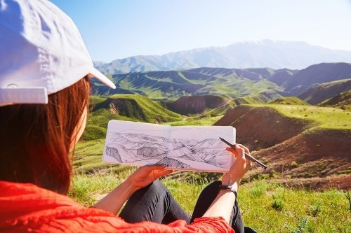 Follow These 4 Easy Steps to Sketch Any Landscape You See