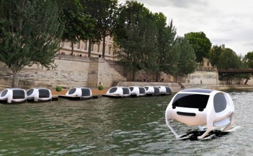 Flying Water Taxis Will Glide Down the River Seine in Paris This Summer