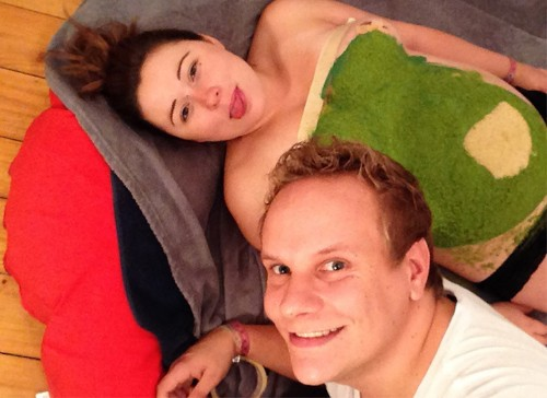 Husband Announces Wife's Pregnancy through Creative Belly Transformations