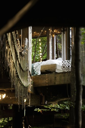 Enchanting Trio of Treehouses Each Have a Uniquely Cozy Feel