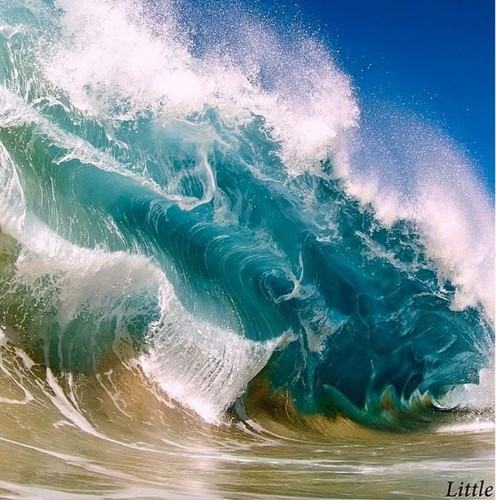 The Powerful Force of the Ocean Captured Inside Crashing Waves