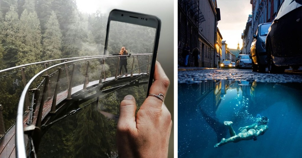 Man Leaves Behind 20-Year Career in Finance to Become Photo Manipulation Artist