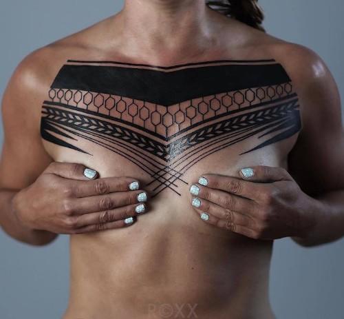 Striking Geometric Tattoos Inspired by Nature's Microscopic World