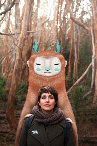 Argentinian Illustrator Travels Vicariously Through Her Whimsical Characters