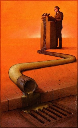 Thought-Provoking Satirical Illustrations by Pawel Kuczynski