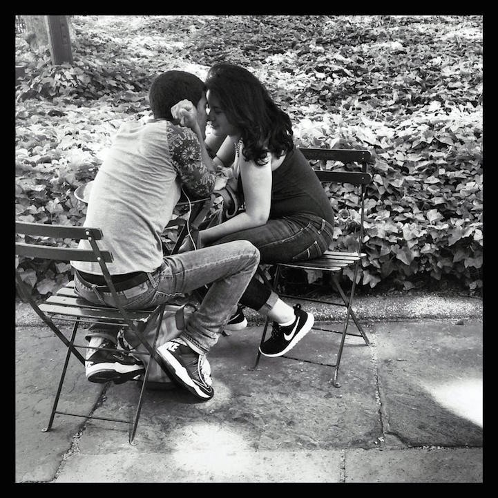 Young Love: Intimate, Candid Snapshots of Couples on the Streets of NYC