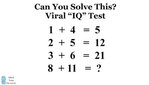 The Internet Can't Seem to Agree on the Answer to This Math Puzzle