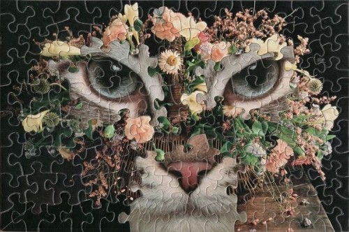This Artist Brilliantly Uses Different Jigsaw Puzzles to Create Surreal Mashups