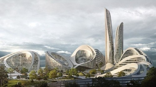 """Zaha Hadid Architects Selected to Build New """"Smart City"""" in Moscow"""