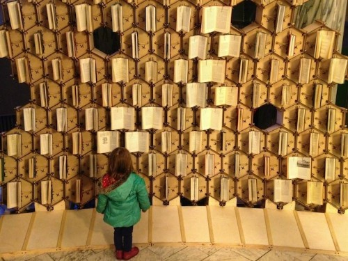 Book Hive: New Interactive Book Display in Bristol Central Library