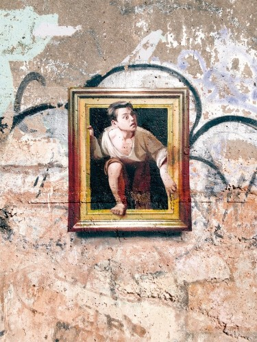 Artist Uses Graffiti to Bring Fine Art Paintings from Museums to the Streets