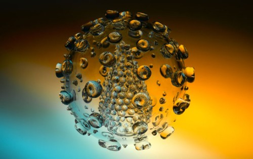 Beautifully Accurate Glass Sculptures of Deadly Viruses