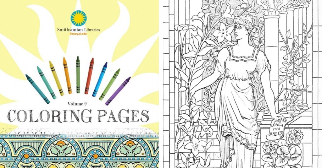 "Over 100 Museums Invite You to ""Color Their Collections"" with Free Adult Coloring Books"