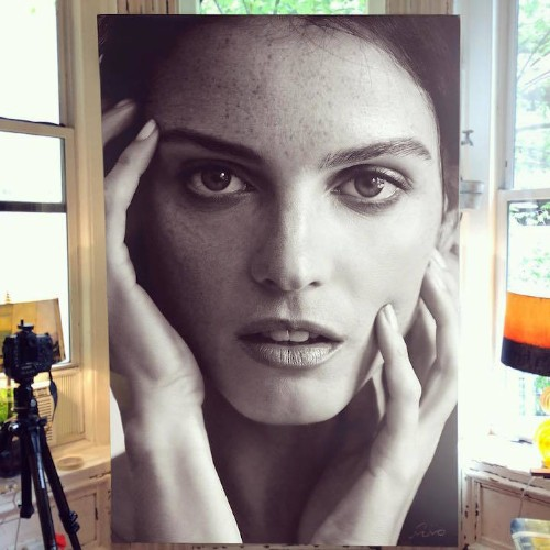 Remarkable Large-Scale Paintings Reveal the Power of Photorealism