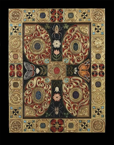 """Quilled Paper """"Carpet"""" Mimics the Exquisite Details of an Ornamental Rug"""