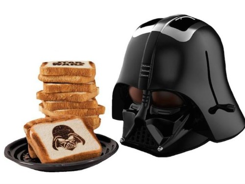 Darth Vader Toaster Cooks The Sith Lord Onto Your Bread