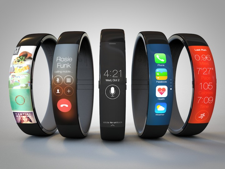 Sleek and Stylish iWatch Concept Syncs with iPhones