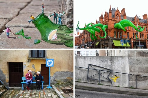 15 Street Artists Who Use the World as Their Playground
