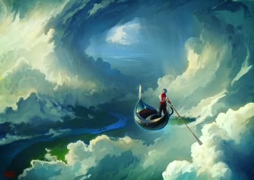 Surreal Digital Paintings Showcase an Amazing Dream World