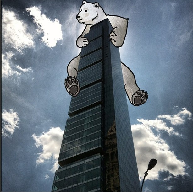 Artist Adds Whimsical Cartoon Twists to New York City Photographs