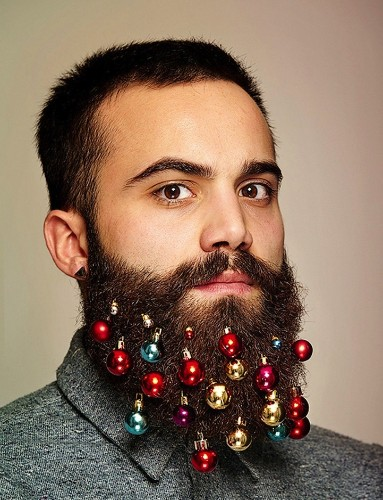 Beard Baubles: Decorate Your Beard This Christmas