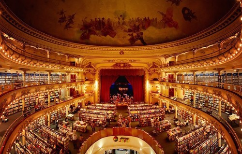 100-Year-Old Theatre in Buenos Aires Is Turned Into a Thriving Bookstore