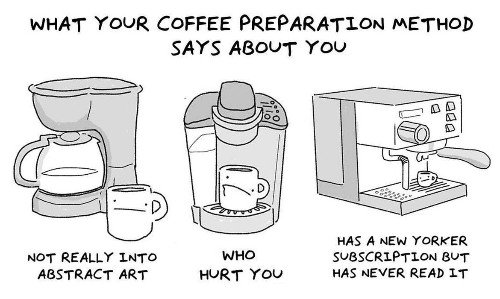 Funny Comic Reveals What Your Coffee Preparation Says About You