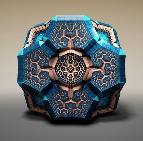 Spectacular Faberg Fractals by Tom Beddard