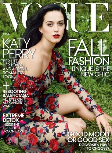 Gorgeous Katy Perry Dazzles for Vogue