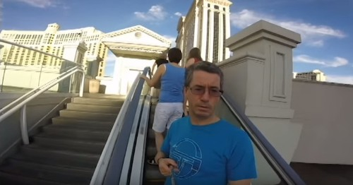 Father Accidentally Records Entire Vacation the Wrong Way as One Long Selfie