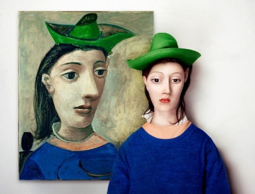 Abstract Portraits Re-Imagined as Real People