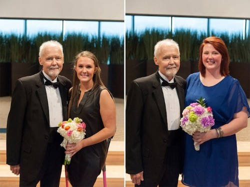 Father with Terminal Cancer Walks Unmarried Daughters Down the Aisle