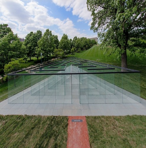 New Glass Labyrinth is the Ultimate Disorienting Experience