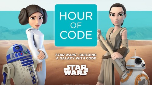 """The Women of """"Star Wars"""" Will Teach You How to Code for Free"""