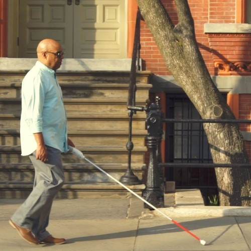 Blind Engineer Invents Smart Cane to Guide with Google Maps & Sensors