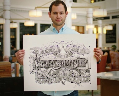 Elegantly Hand-Crafted Calligraphy and Art by the World's Youngest Master Penman