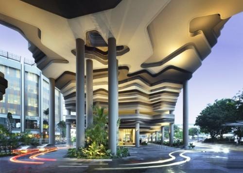WOHA Architect's Amazingly Green Park Royal Hotel