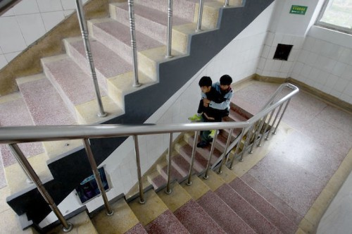 Loyal Chinese Student Has Carried His Disabled Friend to School for Over 3 Years