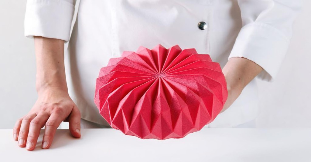 This Pastry Chef's Incredible Geometric Cakes Take Food Design to Another Level