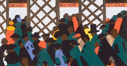 How Jacob Lawrence Captured the African American Experience With 'The Migration Series'