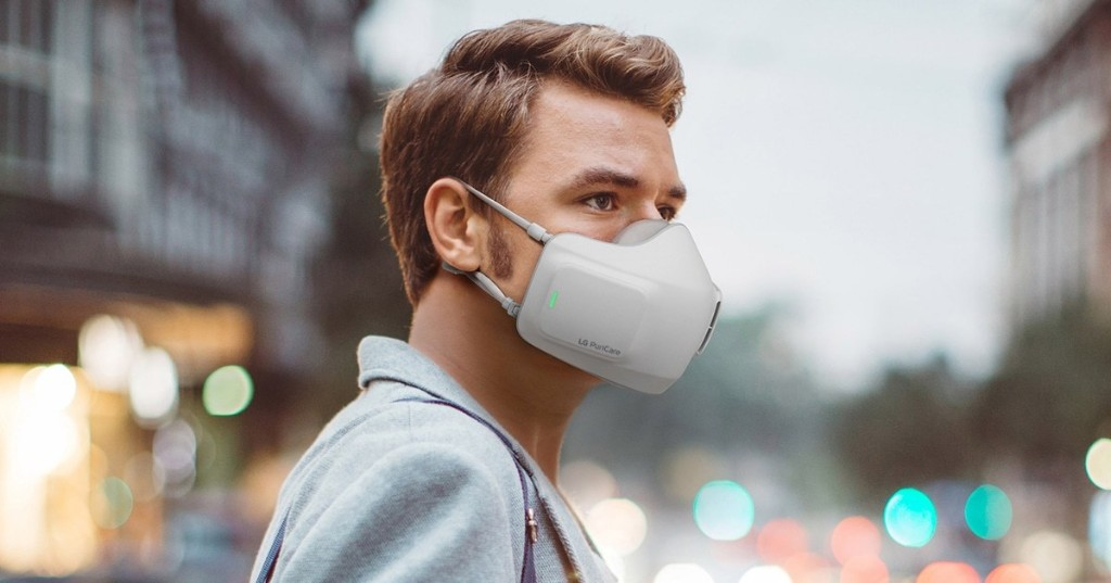 LG Is Releasing a Hi-Tech Face Mask That Is a Personal Air Purifier