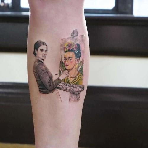 Tattooist Recreates Art History's Greatest Paintings on Clients' Skin