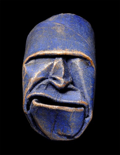 Playfully Expressive Masks Sculpted Out of Toilet Paper Rolls